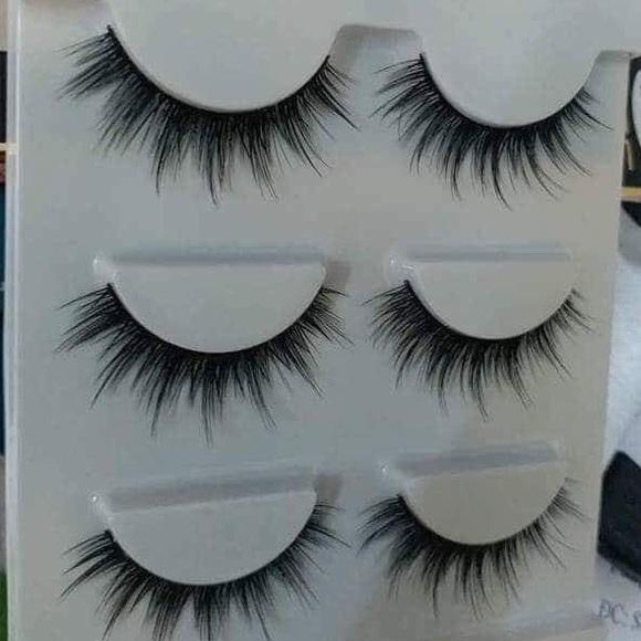 Makeup Glamorous Eyelash 3pairpack Bundle Got Discount Poshmark